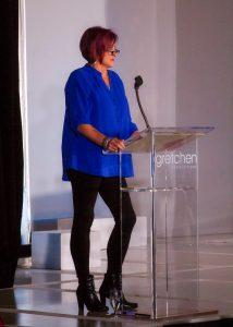 TV personality Geni Cavitt