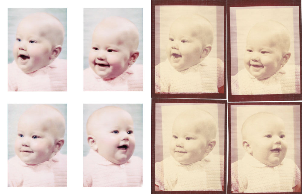 Baby Photo Restoration--Early 1970's